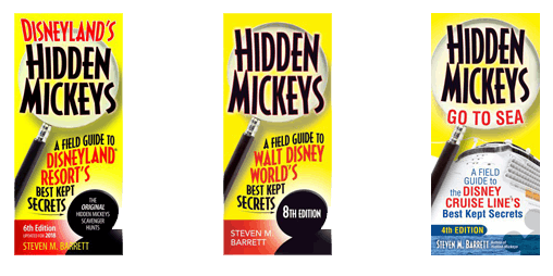 August TGV Author Aaron Wallace Steve Barrett Hidden Mickey