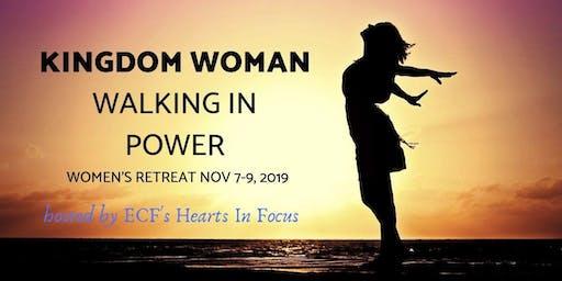 Kingdom Woman Walking in Power Retreat