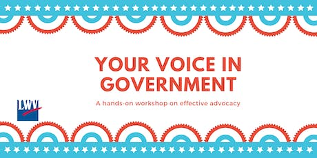 Your Voice in Government: Knowledge for Observing and Advocating tickets