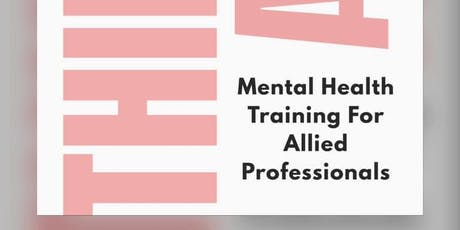 Think Again! Mental Health Training for Allied Professionals tickets