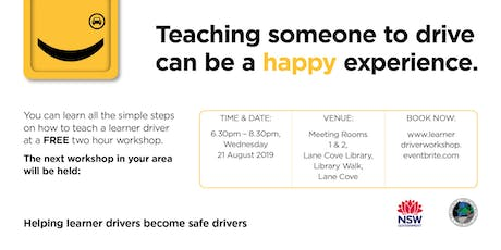 Teaching Your Learner Driver tickets