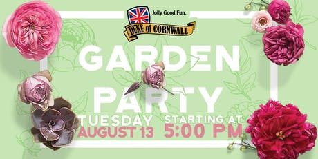The Duke of Cornwall Garden Party tickets