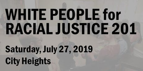 White People for Racial Justice 201 (July 2019) tickets