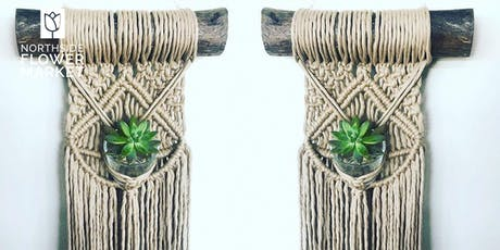 Macrame Plant Wall Hanging Workshop tickets