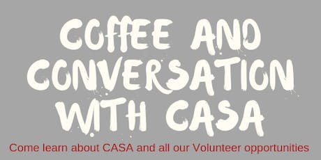 Coffee with CASA - Evening Session tickets