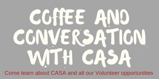 Coffee with CASA - Evening Session
