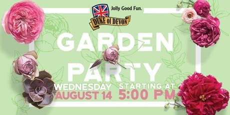 The Duke of Devon Garden Party tickets