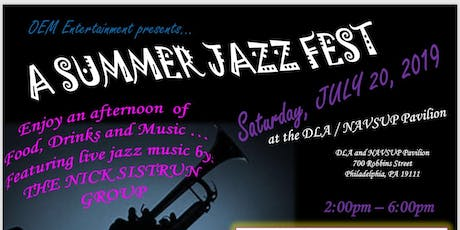A Summer Jazz Fest tickets