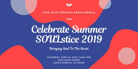 Celebrate Summer SOULstice 2019 | Bringing Soul To The Street tickets