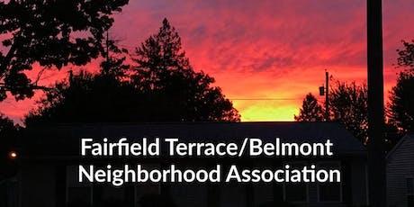Fairfield Terrace/Belmont Neighborhood Association Block Party tickets