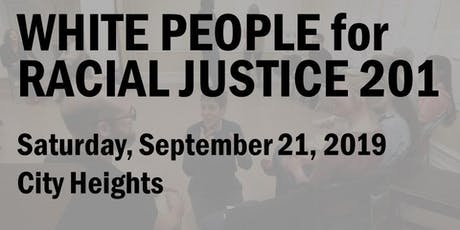 White People for Racial Justice 201 (Sept 2019) tickets
