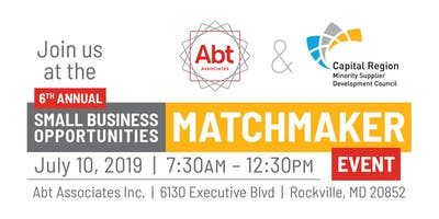 6th Annual Small Business Opportunities Matchmaker 2019