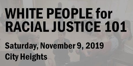 White People for Racial Justice 101 (November 2019) tickets