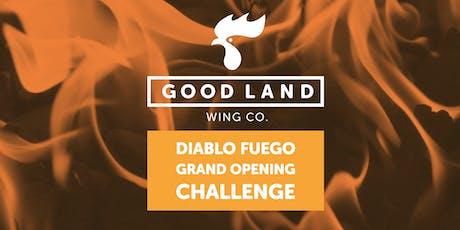Good Land Wing Co. Diablo Fuego Challenge tickets