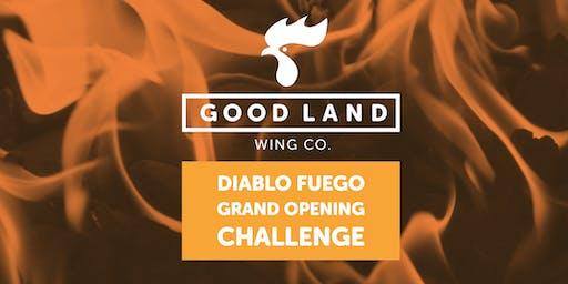 Good Land Wing Co. Diablo Fuego Challenge