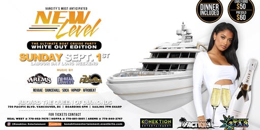 New Level Boat Cruise White Out Edition (All White)
