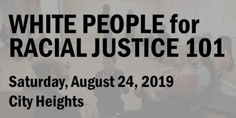 White People for Racial Justice 101 (August 2019) tickets