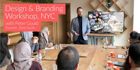 Branding & Design Workshop with Peter Gould (NYC) tickets
