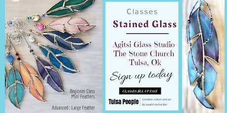 Stained Glass Mini Feathers  tickets