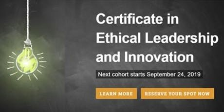 Ethical Leadership and Innovation tickets
