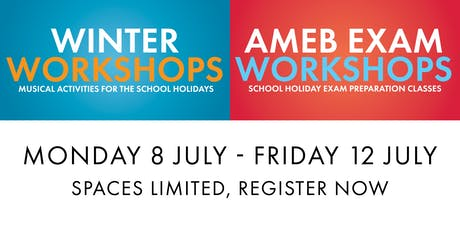 Winter Workshops and AMEB Classes tickets
