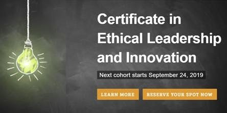 Ethical Leadership and Innovation
