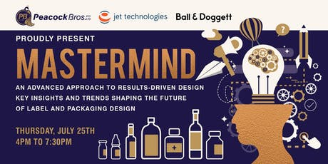 Mastermind Event - Proudly presented by Peacock Bros., Jet Technologies and Ball&Doggett tickets