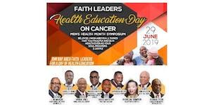 Faith Leaders Health Education Day - Men's Health...