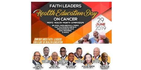 Faith Leaders Health Education Day - Men's Health Month Symposium  tickets
