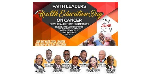 Faith Leaders Health Education Day - Men's Health Month Symposium