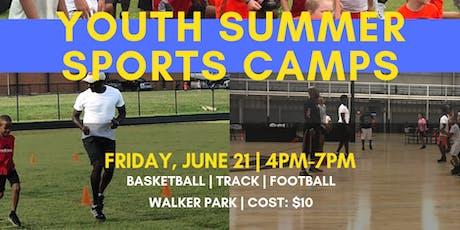 Restore CDC Summer Sports Camp tickets