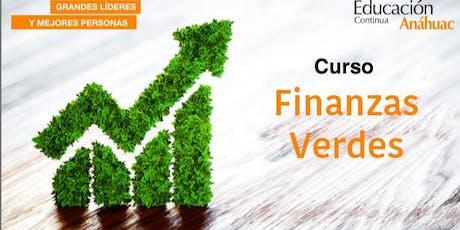 Curso de Finanzas Verdes entradas