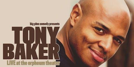 Tony Baker tickets