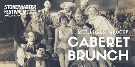 Cabaret Brunch tickets