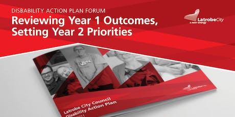 Latrobe City Council Disability Action Plan Community Workshop tickets