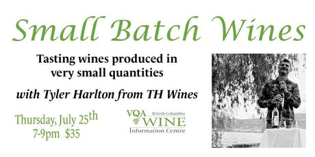 Small Batch Wines tickets
