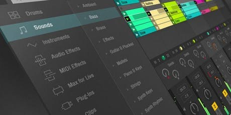 Ableton Live short course fully subsidised tickets