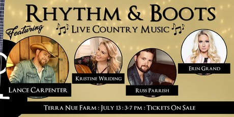 Rhythm and Boots-Live Country Music-Nashville Writer's Round tickets