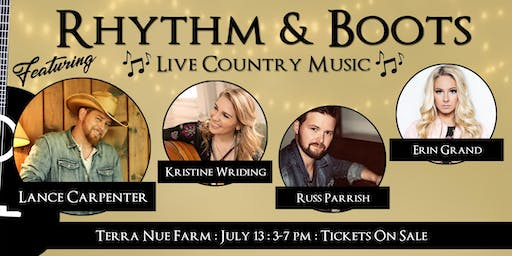 Rhythm and Boots-Live Country Music-Nashville Writer's Round