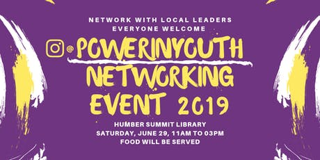 PowerInYouth Networking Event 2019 tickets