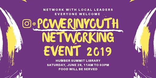 PowerInYouth Networking Event 2019