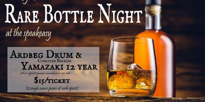 Rare Bottle Night - Single Malt edition (Ardbeg Drum Committee Release & Yamazaki 12 yr)