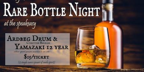 Rare Bottle Night - Single Malt edition (Ardbeg Drum Committee Release & Yamazaki 12 yr)  tickets