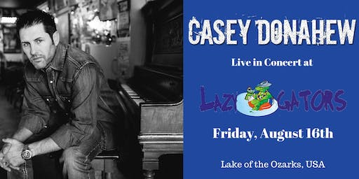 Casey Donahew at Lazy Gators