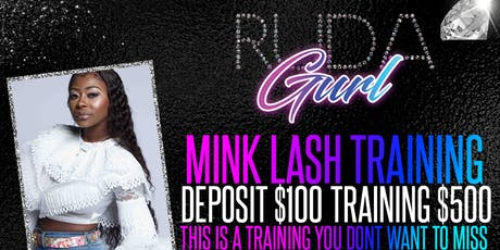 Columbus Ga. Mink Lash Extensions Training tickets