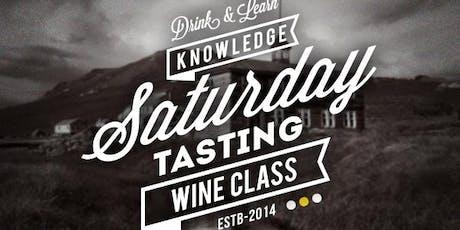 Australian Wine Saturday Class  tickets