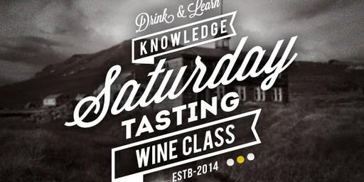 Australian Wine Saturday Class