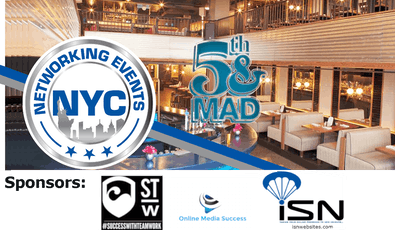NYC Business Networking Event at 5th&Mad tickets