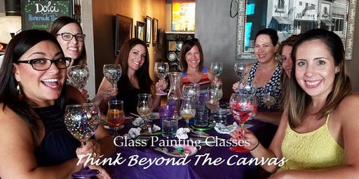 Wine Glass Painting at Vino Aquino @ 7 pm