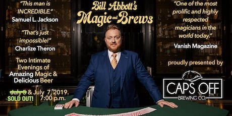 Magic & Brews! Two Intimate Evenings of Amazing Magic & Delicious Craft Beer tickets